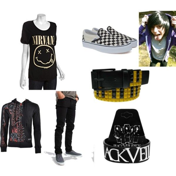 emo fashion clothes for guys - Google Search | The ...
