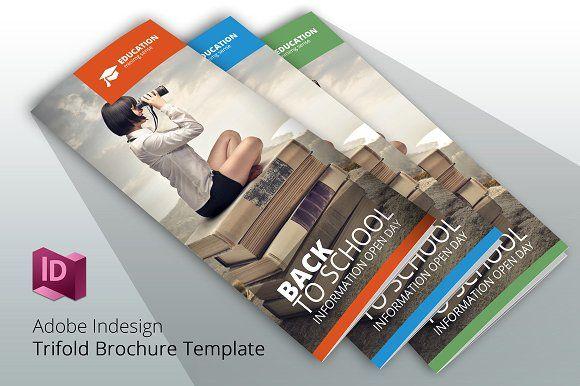 Back To School 3 Brochure Template Brochure Template Brochures