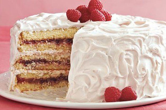طريقة عمل كيك التوت و الفانيليا المقادير مقادير الكيك 4 بيض فانيليا كوب دقيق حلويات ذاتي الإختمار كوب سك French Vanilla Cake Vanilla Cake Cake Flavors