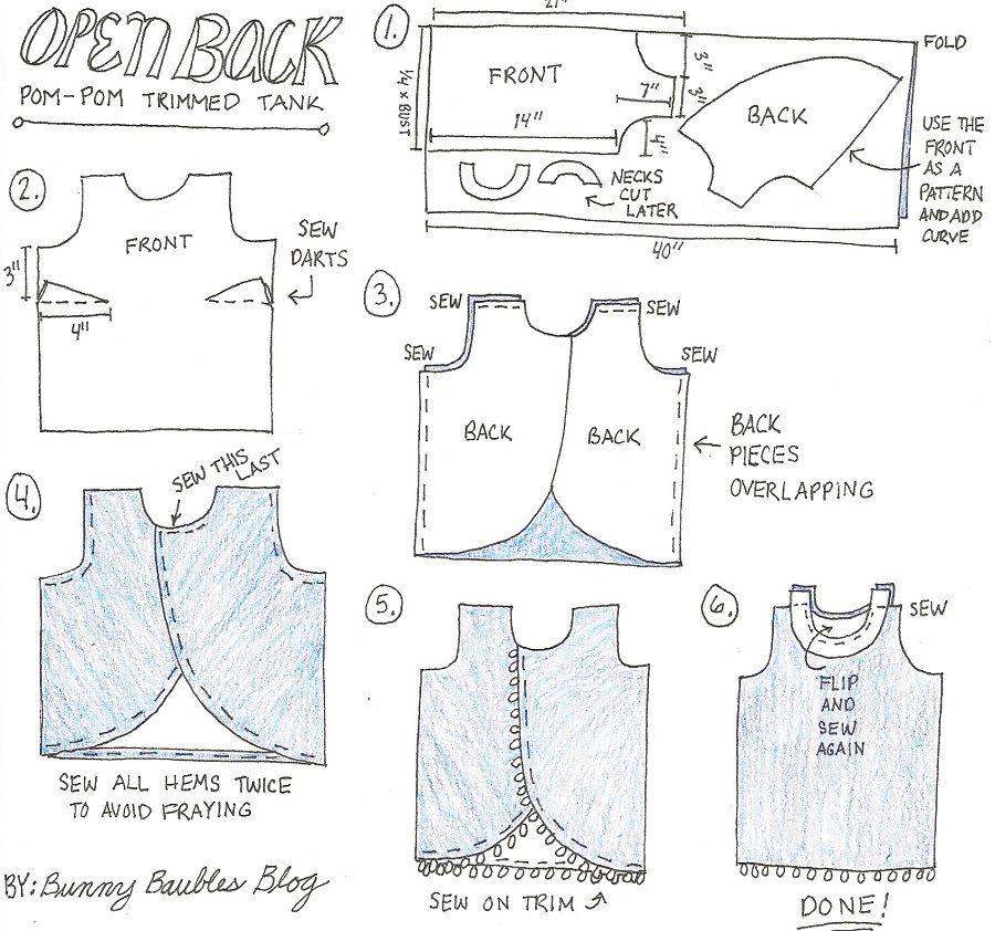 Sewing Patterns Tank Top