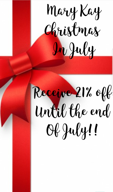 Christmas In July Sale Ideas.Mary Kay Christmas In July 21 Off Until The End Of July