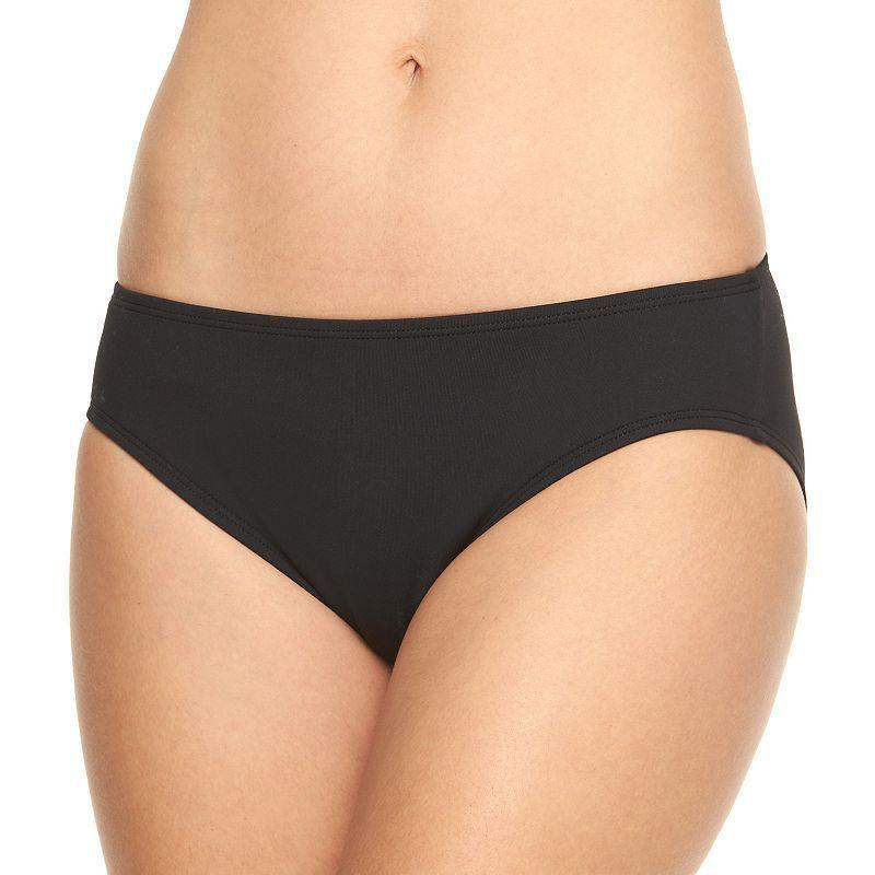 7798e57d9aa08 Chaps Women s Solid Hipster Bikini Bottoms