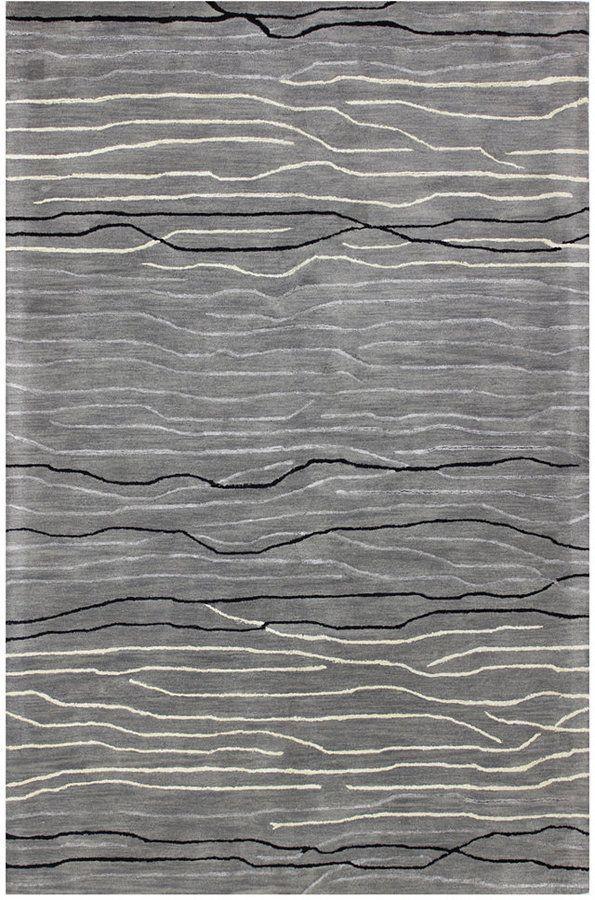 Kenneth Mink Waves 5 6 X 8 Area Rug