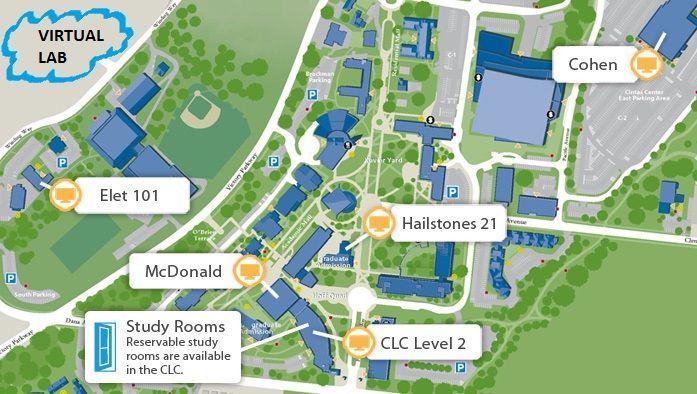 Map Of Xavier University Campus