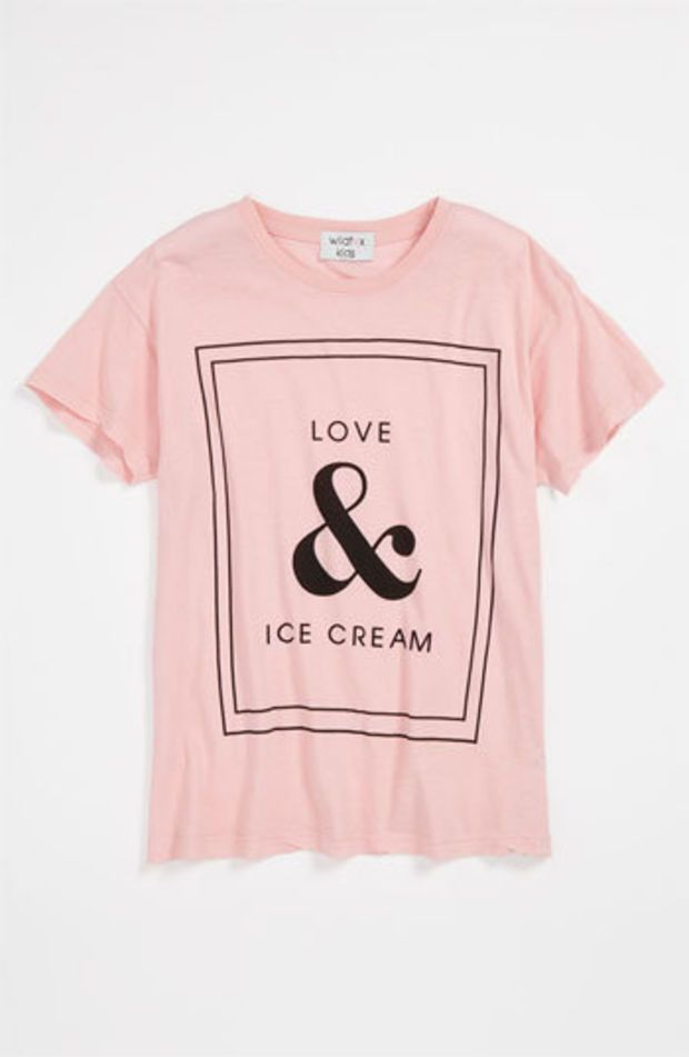 Wildfox 'Love & Ice Cream' Tee (Big Girls) | Nordstrom