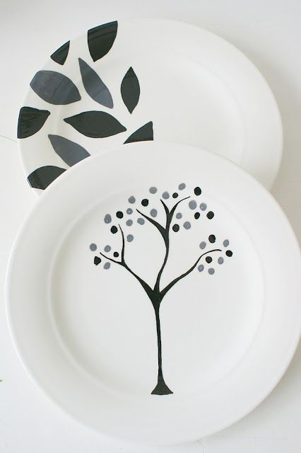 Sehr s i n n e n r a u s c h: Tellermalerei | carton | Keramik malerei BD79