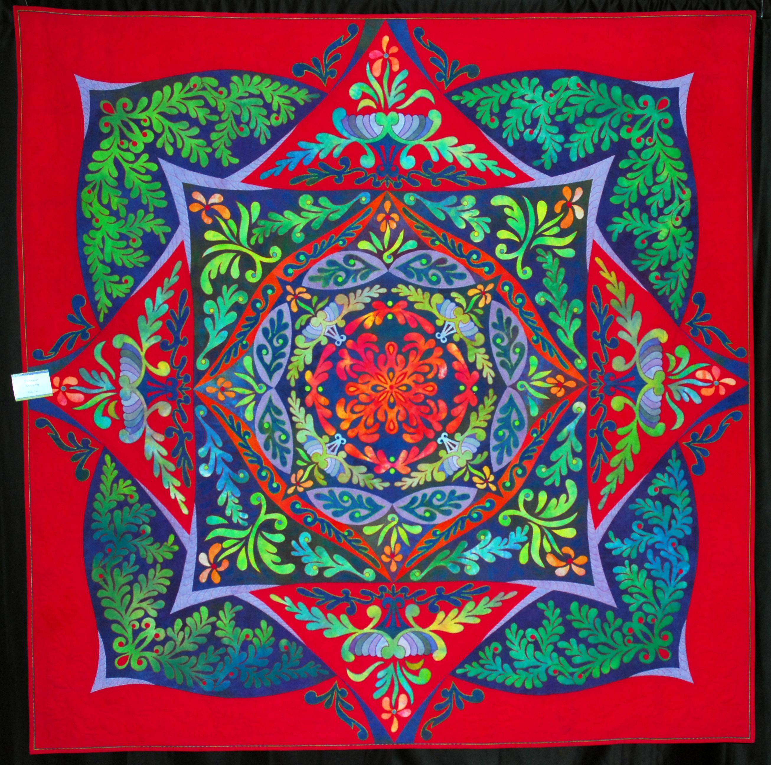 Ricky Tims Super Quilt Seminar Bird Brains Dog Tales Quilts Art Quilts Applique Quilts