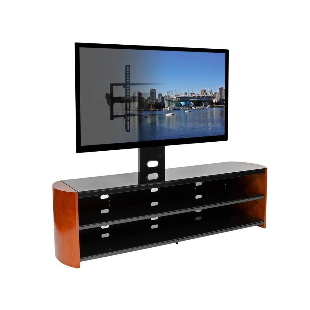 Kento Living OASIS68PL TV Stand w/ Built-in Mount