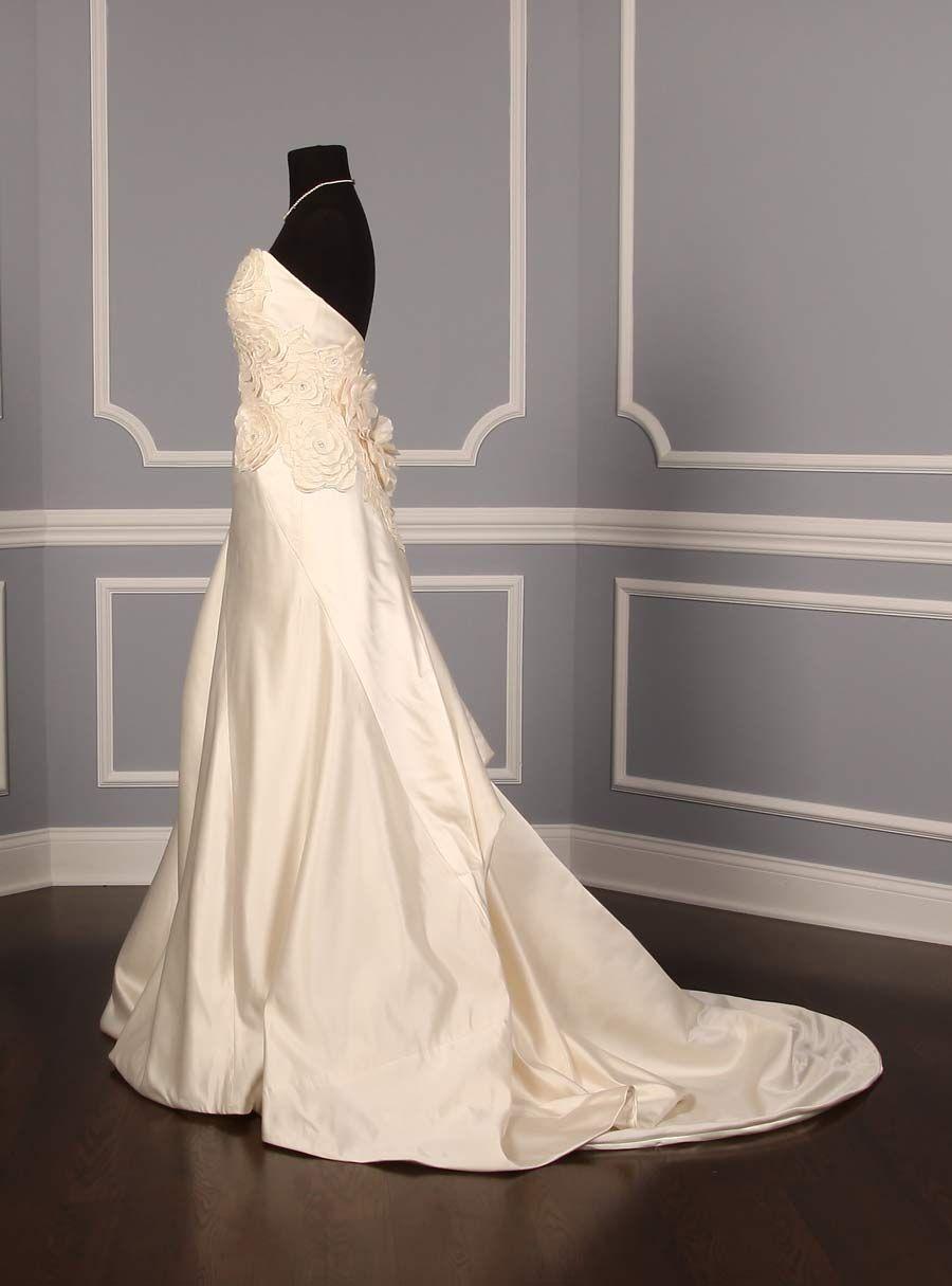 Ulla Maija Anna Maier Marielle Fleur 3204 Discount Designer Wedding Dress Www Yourdrea Discount Designer Wedding Dresses Wedding Dresses Couture Bridal Gowns