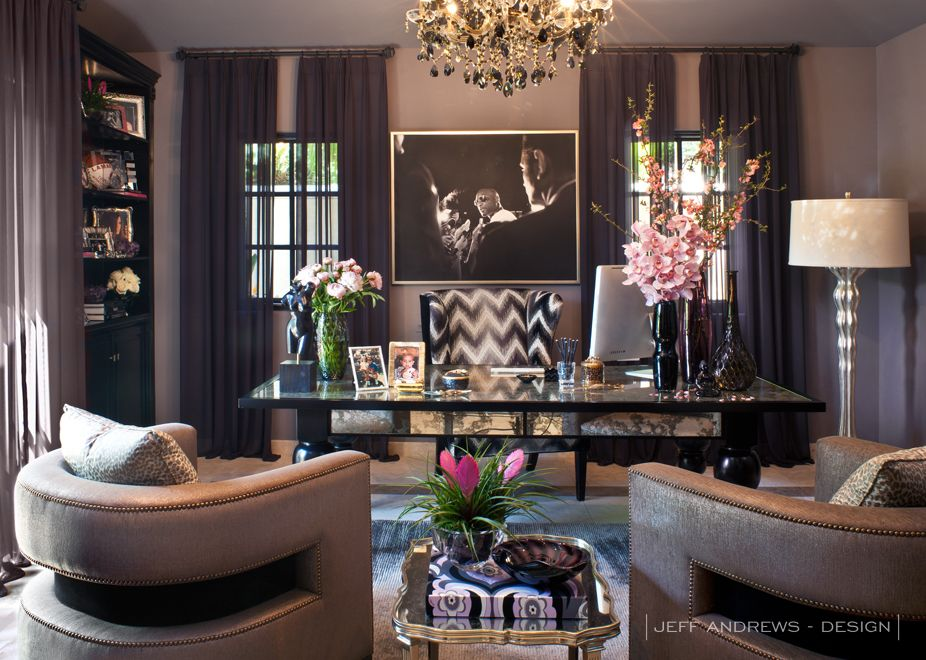 Beautiful Entrepreneuress 101: The Magic Of Your Throne. Mauve WallsDark Purple WallsJeff  Andrews DesignPurple ...