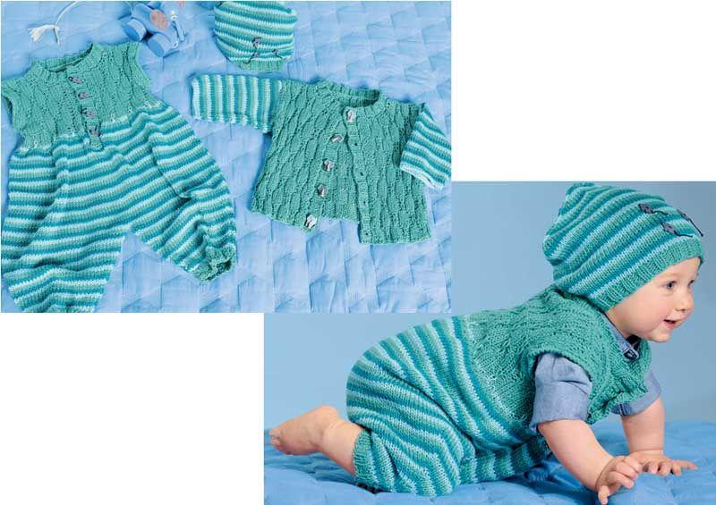 Комплект для новорожденного вязание схема и описание 78