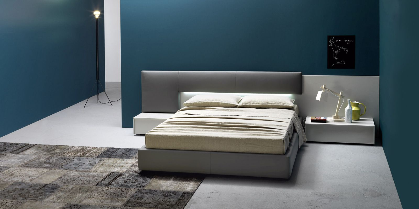 Dedalo bed by sangiacomo spaces of interest bedroom for Interior design italiani