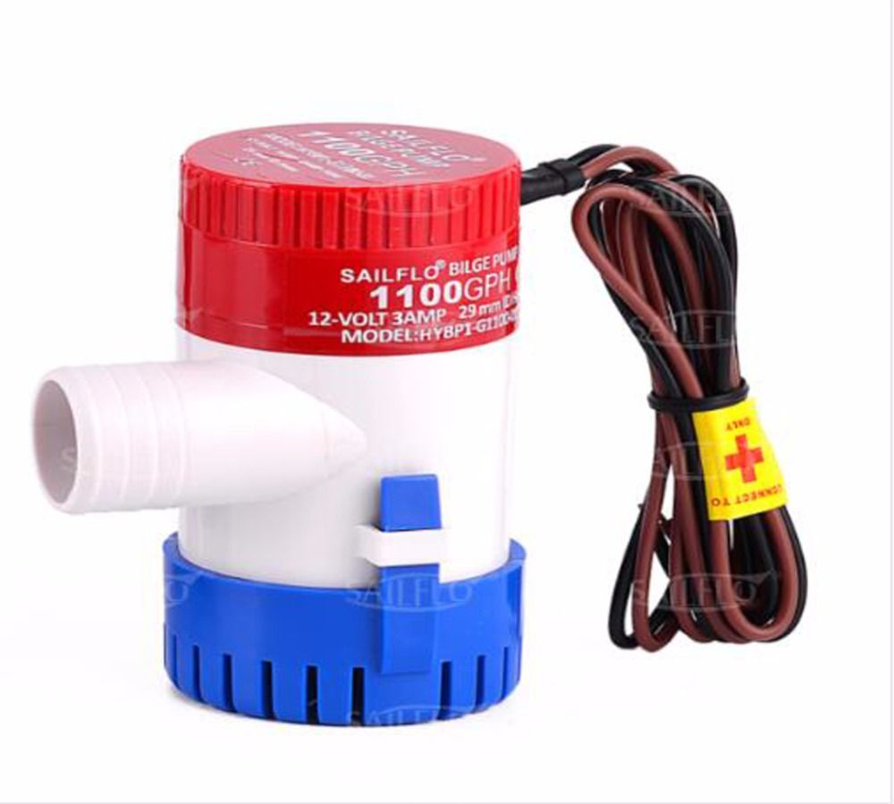 Sailflo 1100 Gph 12v Boat Marine Plumbing Electric Bilge Pumps Electric Water Pump Water Pumps Boat Accessories