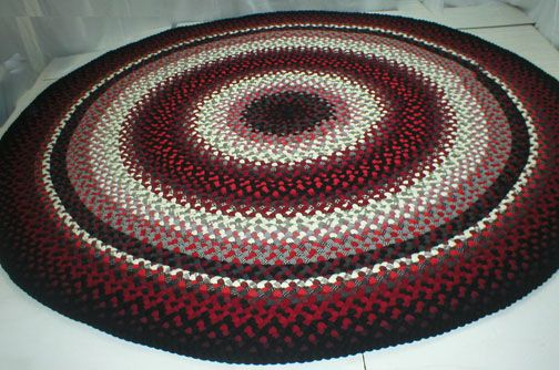 Handmade Braided Rugs By Marge Uylanie A Round Rug