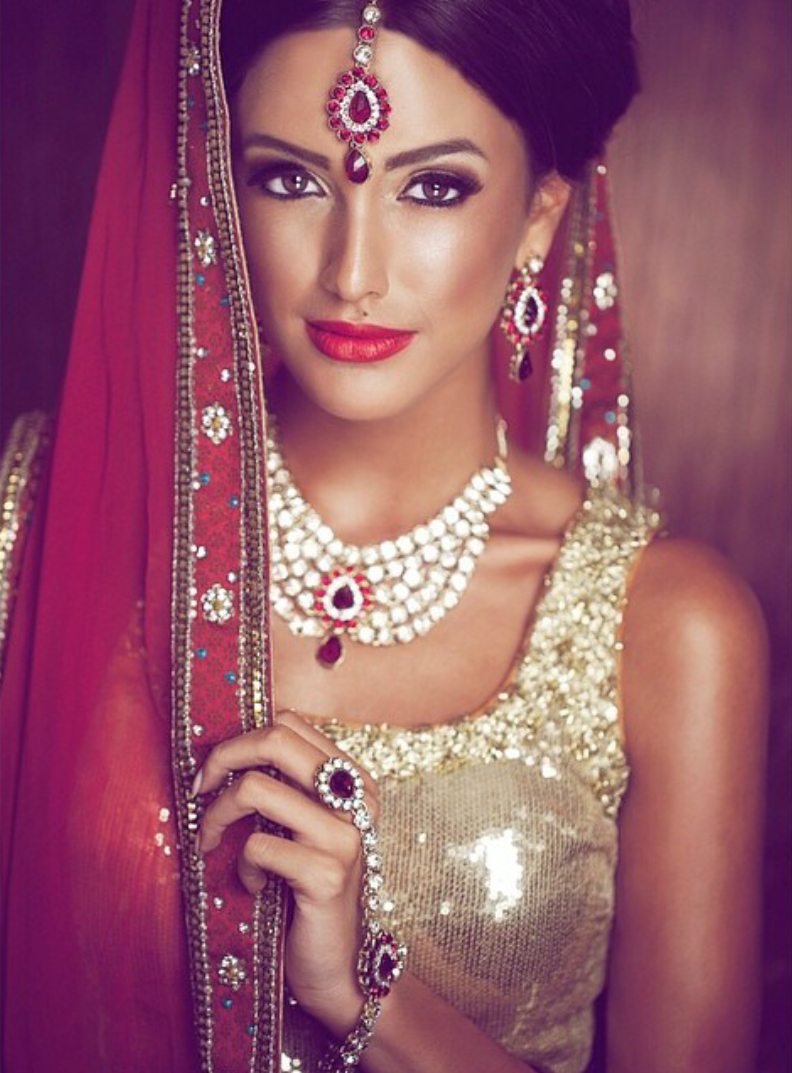 shabnam12 Anu Malhi Makeup Academy Indian bridal