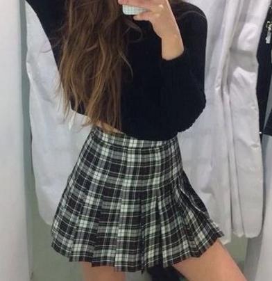 American Apparel Plaid Tennis Skirt Grunge Skirt Fashion Tennis Skirt Outfit