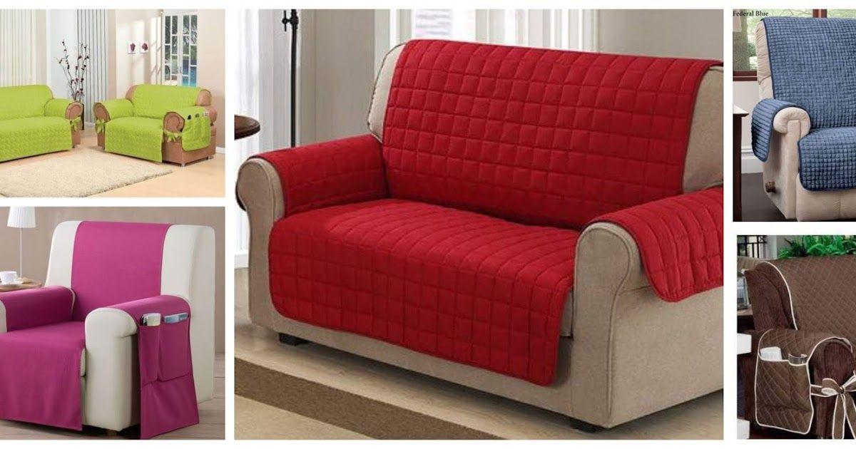 Aprende Como Hacer Una Bonita Funda Para Sofa Facil Y Rapido