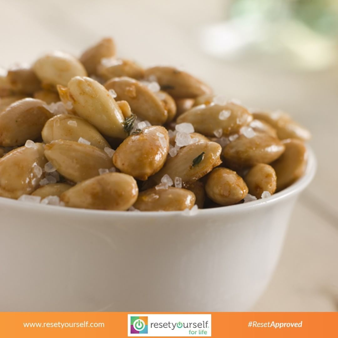 #Almonds are a #delicious source of #protein, #minerals, #vitamins and high-quality unsaturated #oil. Almonds are closely related to the peach, plum and apricot. Unlike these other fruits, however, the almond #seed is eaten and the fruit discarded. #ResetApproved #superfood #healthy