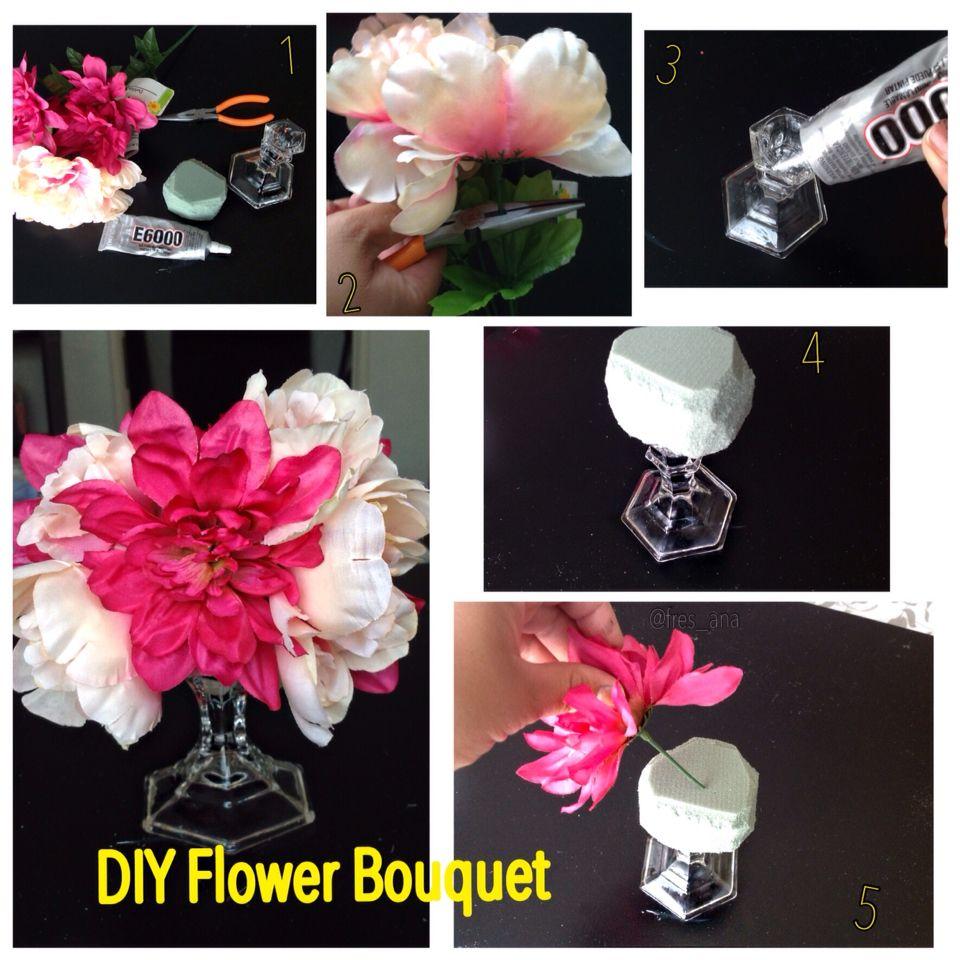 Diy flower bouquet pictorial diy decor easy recipes pinterest diy flower bouquet pictorial izmirmasajfo