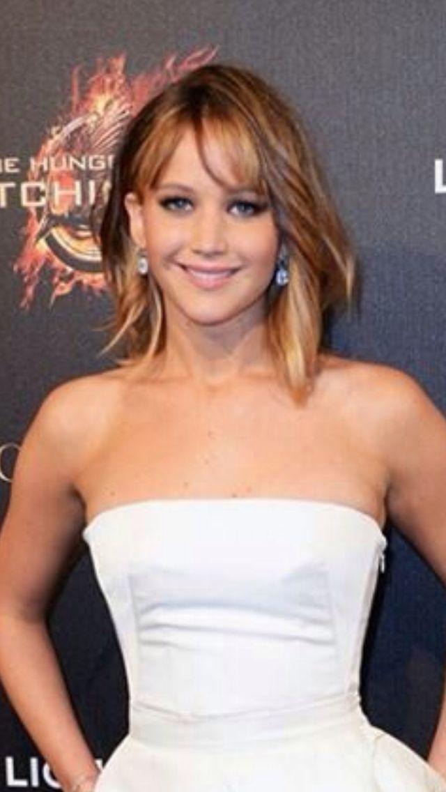 Jennifer Lawrence Medium Hair Style Hair Pinterest Hair