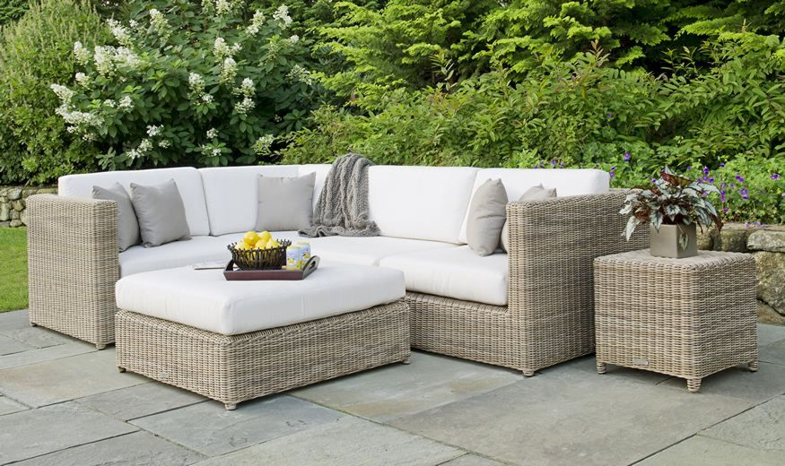 Kingsley Bate Sage Harbor Woven Sectional Available At Dte Living