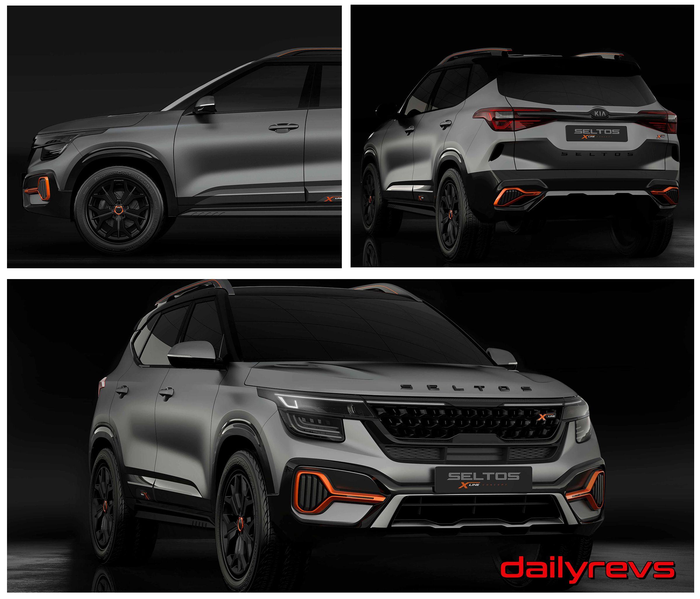 2020 Kia Seltos X Line Dailyrevs In 2020 Kia Kia Motors Toyota C Hr