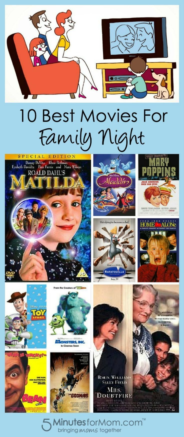 What to see on Family Day: 10 best films for family viewing