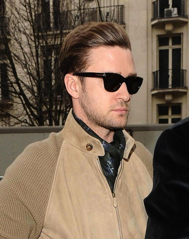 Justin Timberlake In Tom Ford Ft0237 Sunglasses Male