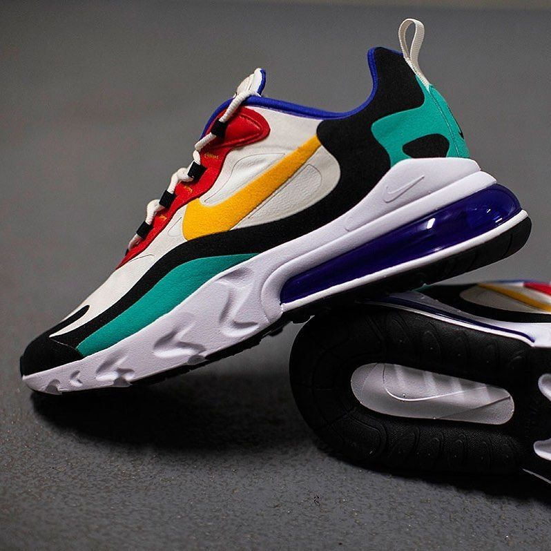 "SneakCorner on Instagram: ""Nike Air Max 270 React ""Bauhaus"