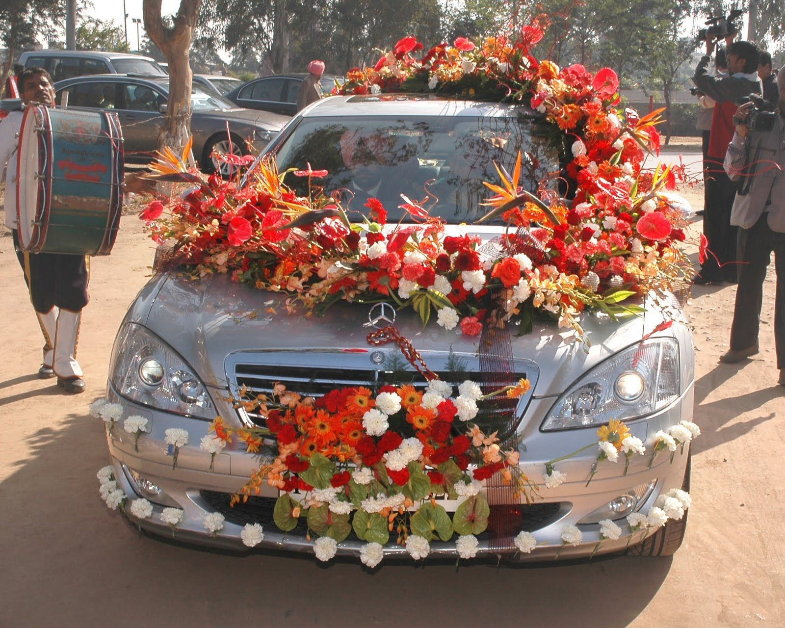 Indian wedding bedroom decoration ideas - Celebrity Wedding Transport Decor Google Search