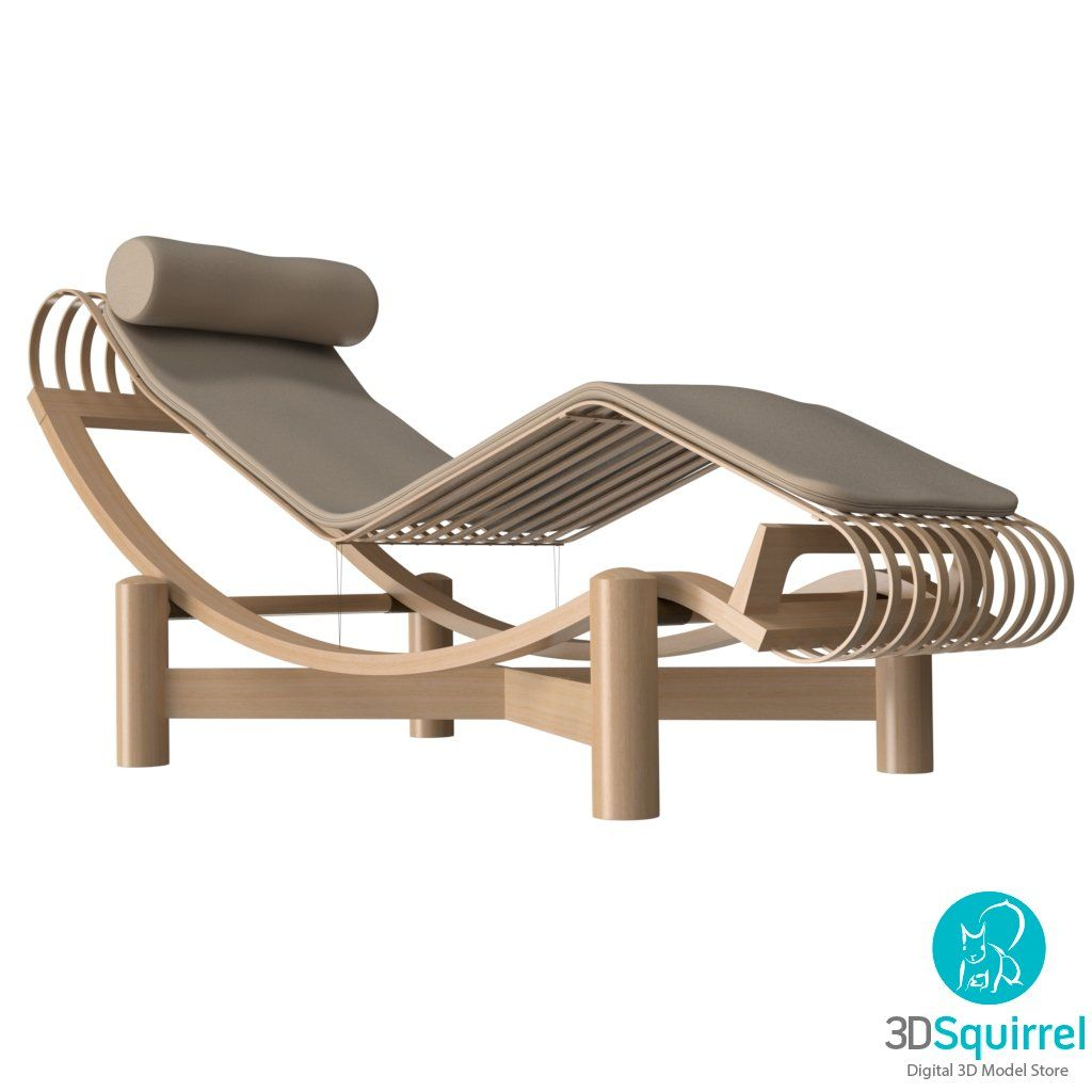 Chaise Longue 3D Model Download | 3DSquirrel