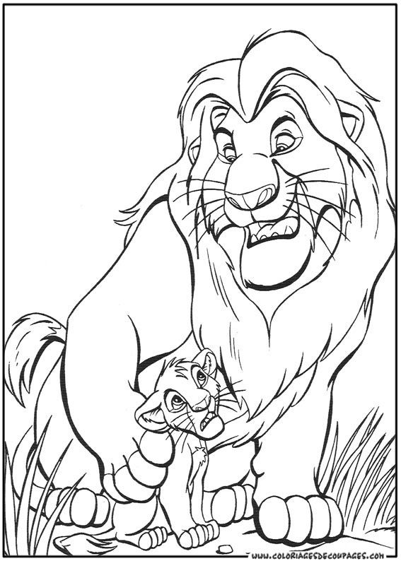 Coloriage Le Roi Lion A Colorier Dessin A Imprimer Horse Coloring Pages Disney Coloring Pages Coloring Pages