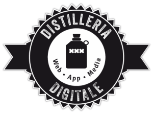 Logo from www.distilleriadigitale.it Graphics, App, Media #webdesignbergamo #iOsApp #AndroidApp #3D #CGI