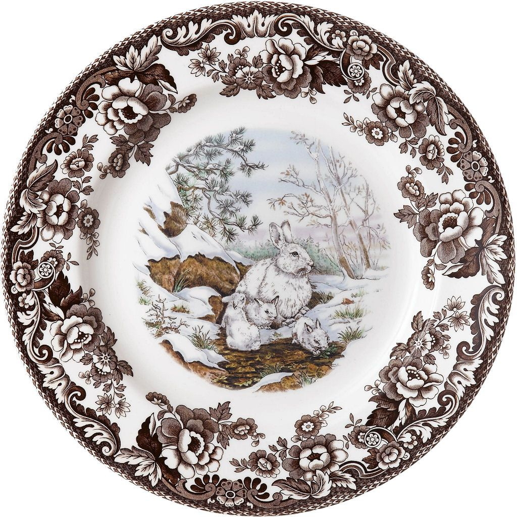 Spode Woodland Snowshoe Rabbit from European Tableware  sc 1 st  Pinterest & Spode Woodland: Snowshoe Rabbit from European Tableware | WOODLAND ...