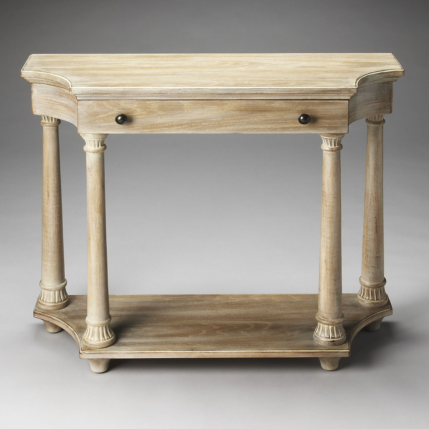 Hobson Console Table | Oak end tables, Decor around tv, Console table