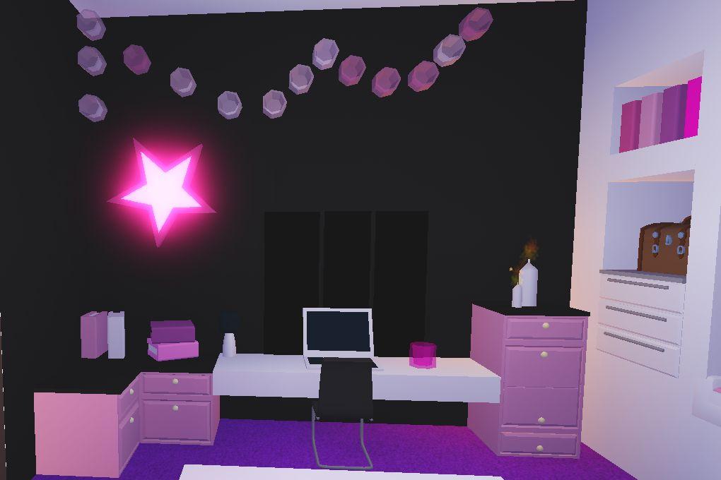 Habitación Moderna Adopt Me Roblox In 2021 Simple Bedroom Design Cute Room Ideas Kawaii Room