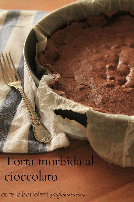 Photo of torta morbida al cioccolato www.profumincucin…
