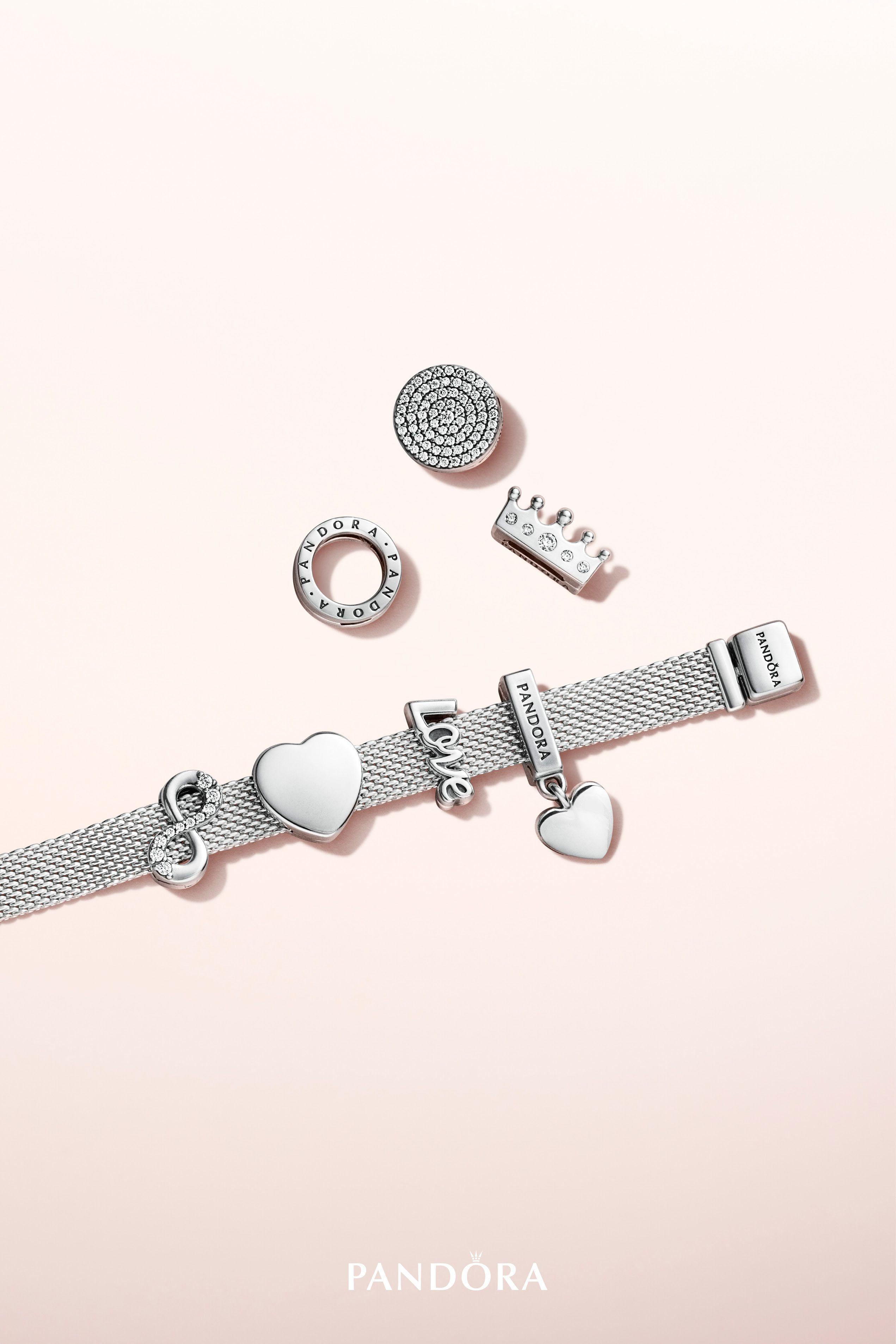pandora infinity charm bracelet