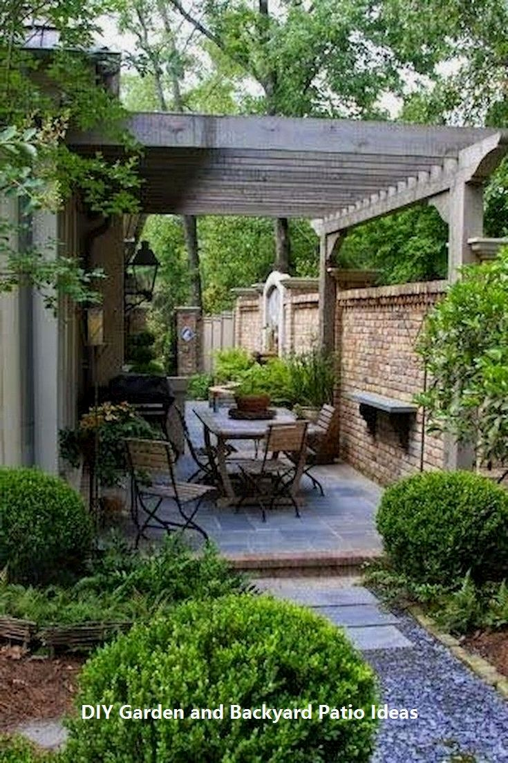 Pin By Phil Amoroso On Car Port With Images Small Patio Garden