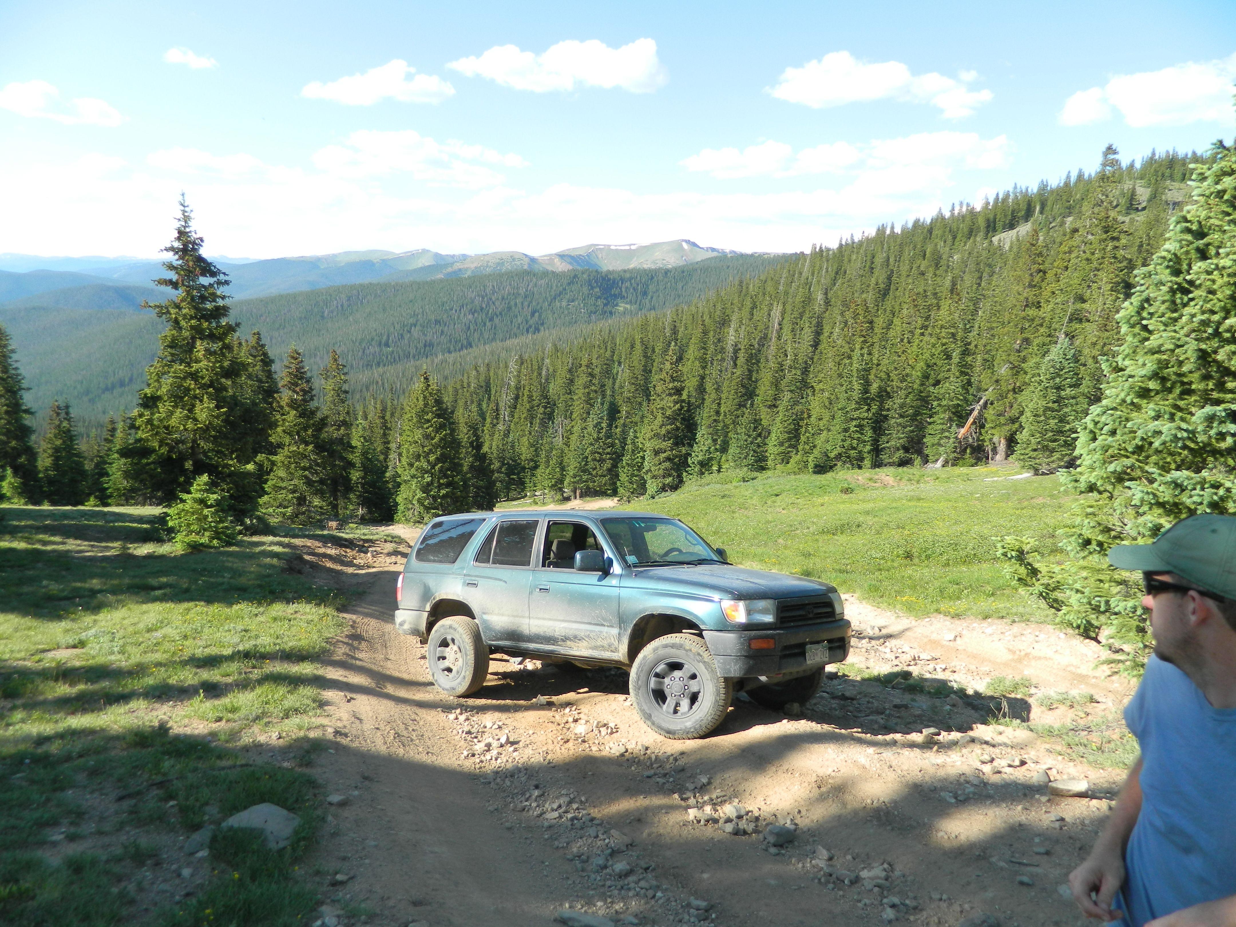 Georgia Pass, Colorado.  Pre everything.