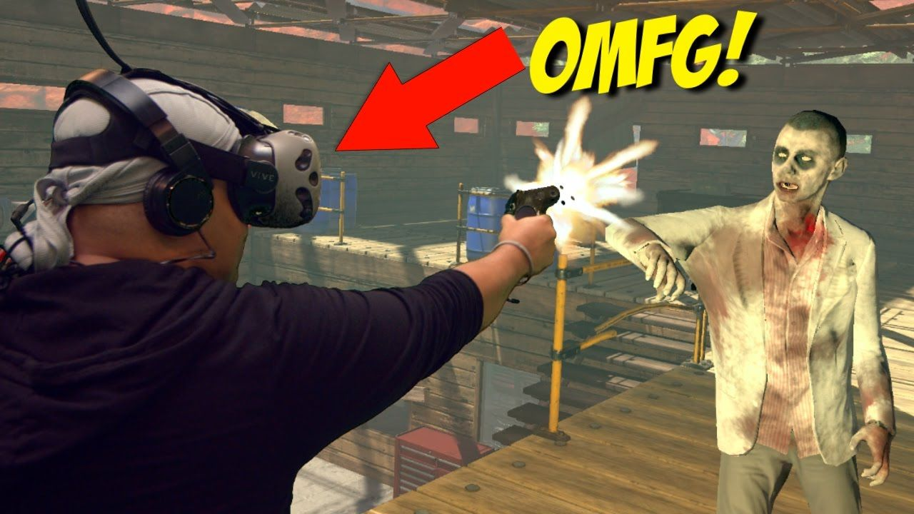 INSIDE A F#%KING ZOMBIE APOCALYPSE!! [DOPEST VR GAMEPLAY EVER! 2]