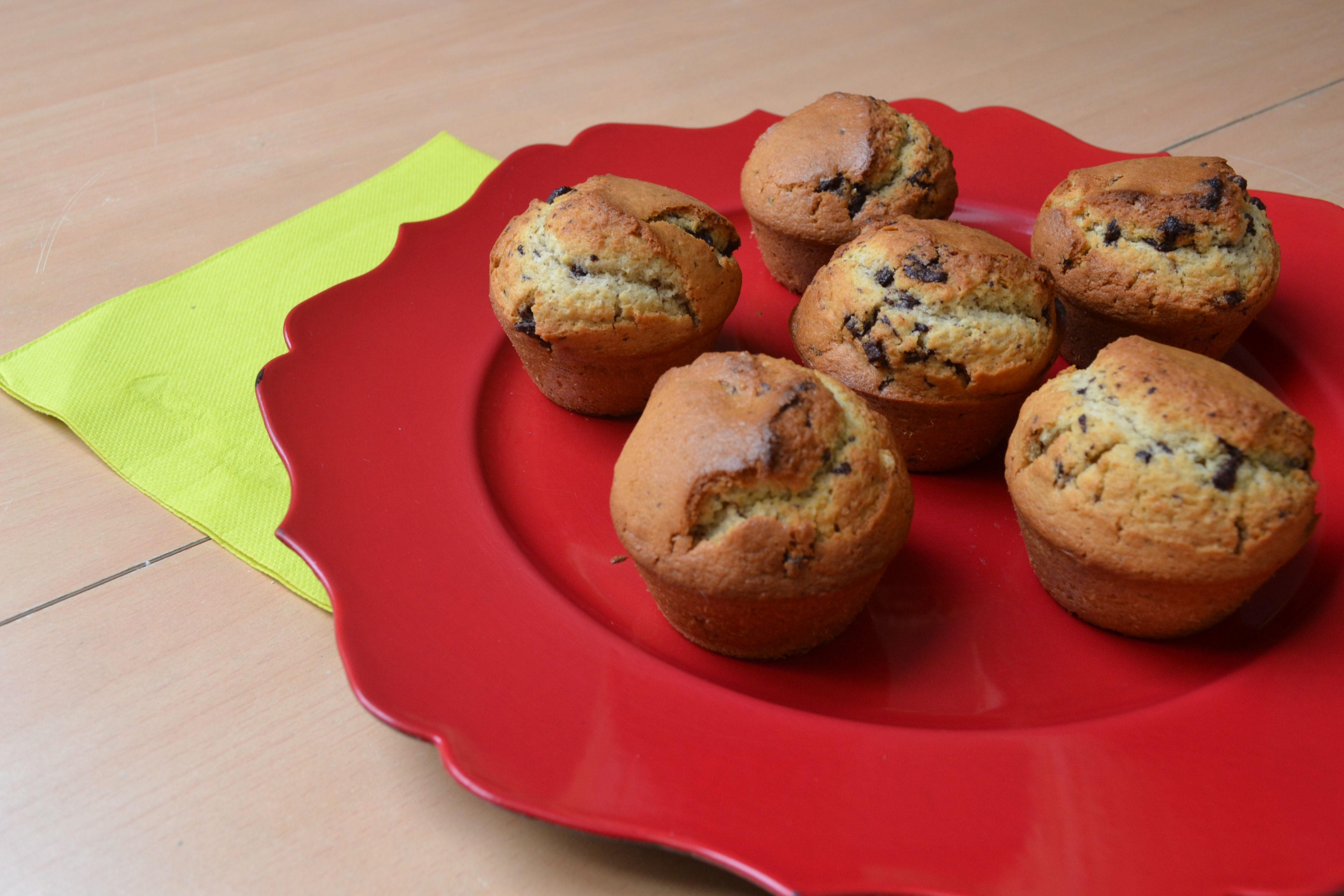 Le jeudi, c'est veggie #9 Muffins au chocolat (vegan) by Miam&Trucs