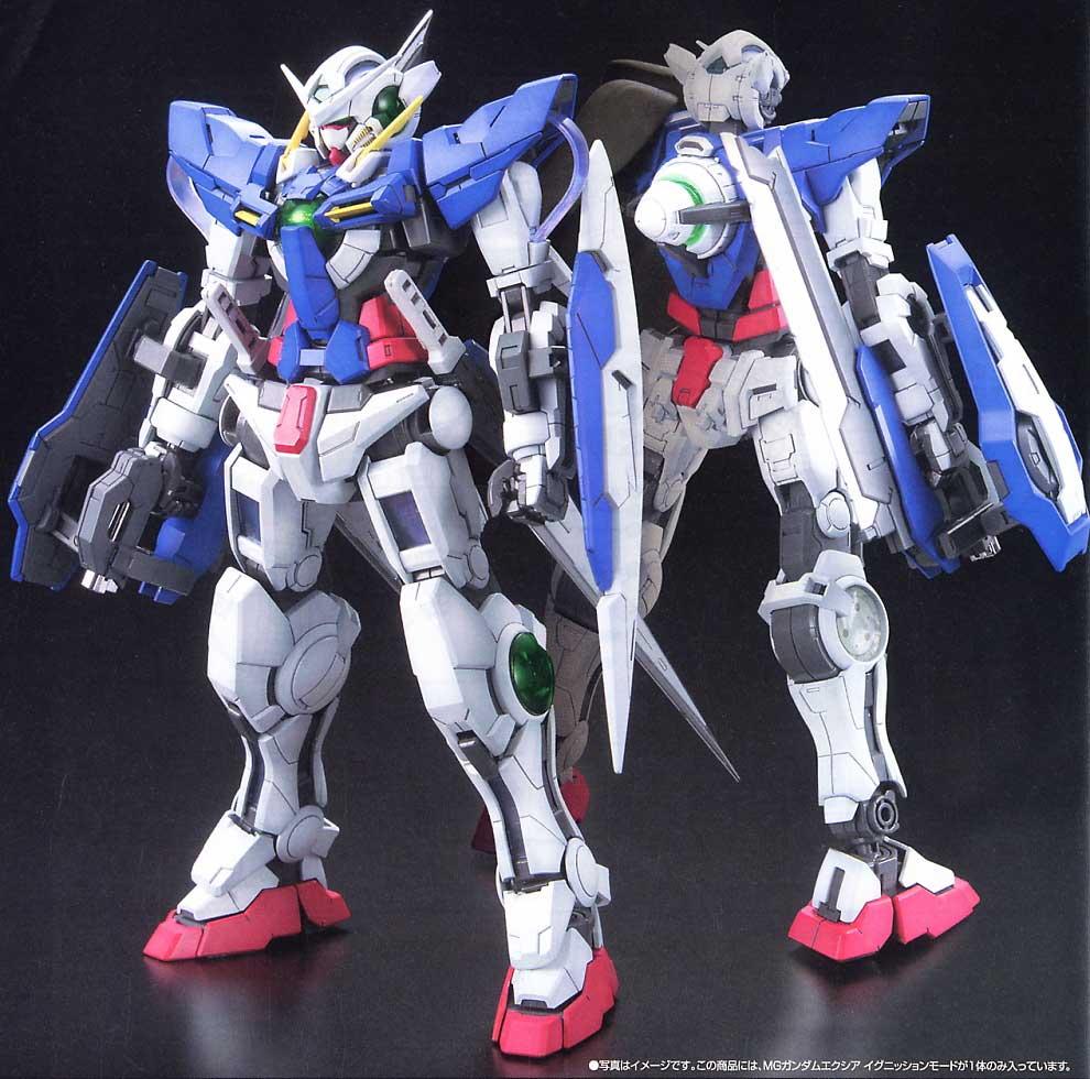 Image by paulapart on Metal Gundam exia, Gundam model