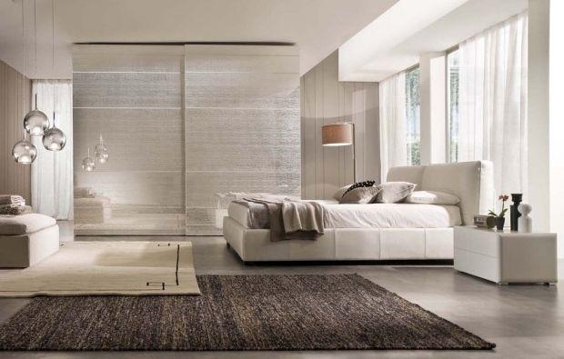 Luxus schlafzimmer schrank schwebetür seiden matt oberfläche finish