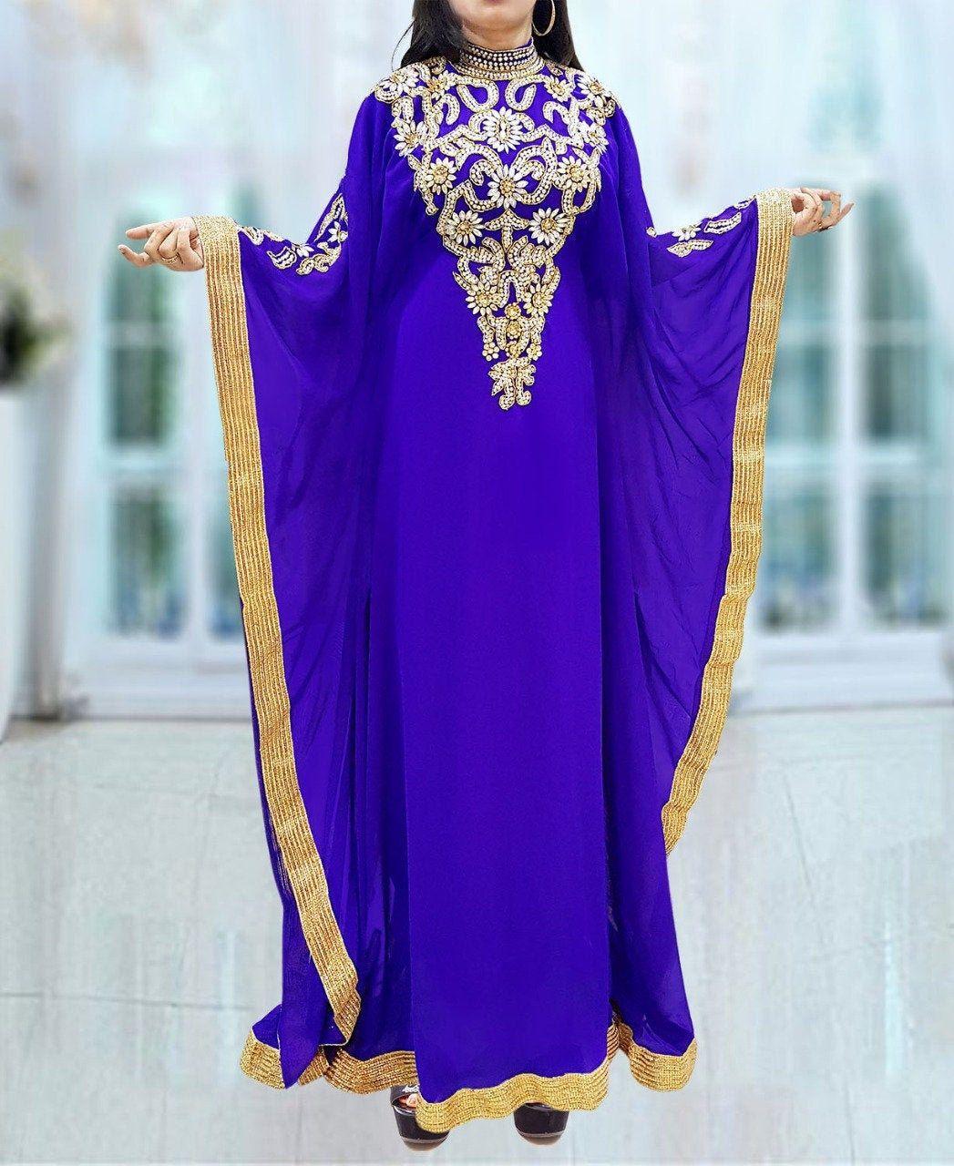 Moroccan Robe Traditional Sale New Kaftan Dresses for Women Caftan Farasha Abaya Maxi Long Sleeve Formal Maxi Gown Evening African Dress
