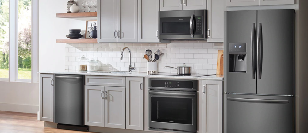 pictures of black stainless steel kitchens Google Search