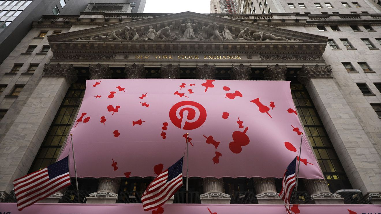 Pinterest Inc. shares dropped more than 15 in afterhours
