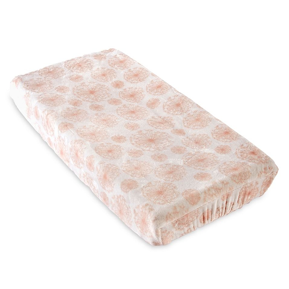 Levtex Baby Dandelion Changing Pad Cover Pink In 2019 Levtex Baby Changing Pad Crib Bedding