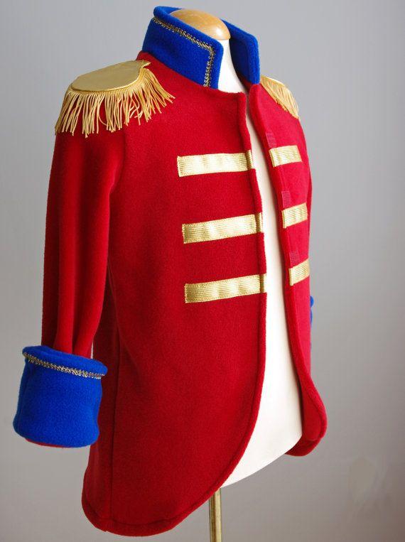 Soldier Children/'s Nutcracker Costume Jacket