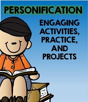 004 Personification English teaching resources, Vocabulary